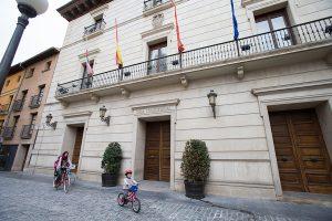 Fachada del Ayuntamiento de Tudela